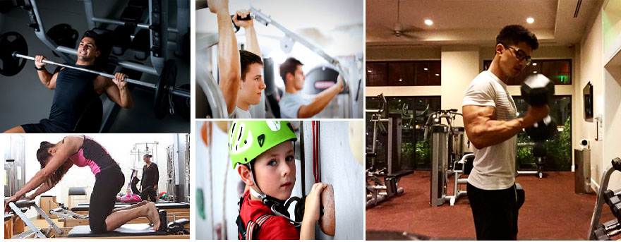 Fitness Centers Examples of Real Imagery